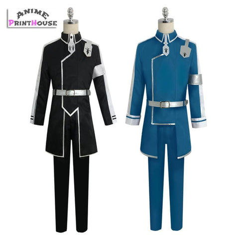 Sword Art Online Alicization Cosplay, Kirito & Eugeo Cos & Wigs