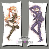 Sword Art Online Body Pillow , Asuna & Kirito Anime Dakimakura