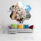 Sword Art Online Canvas, Asuna Landscape Anime Wall Decor