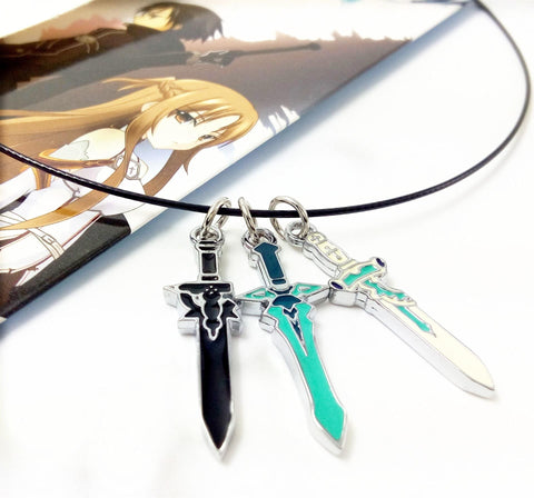 Sword Art Online 3 Sword Necklace