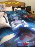 Multi Anime Bed Set, Cover, Blanket | Sample 1