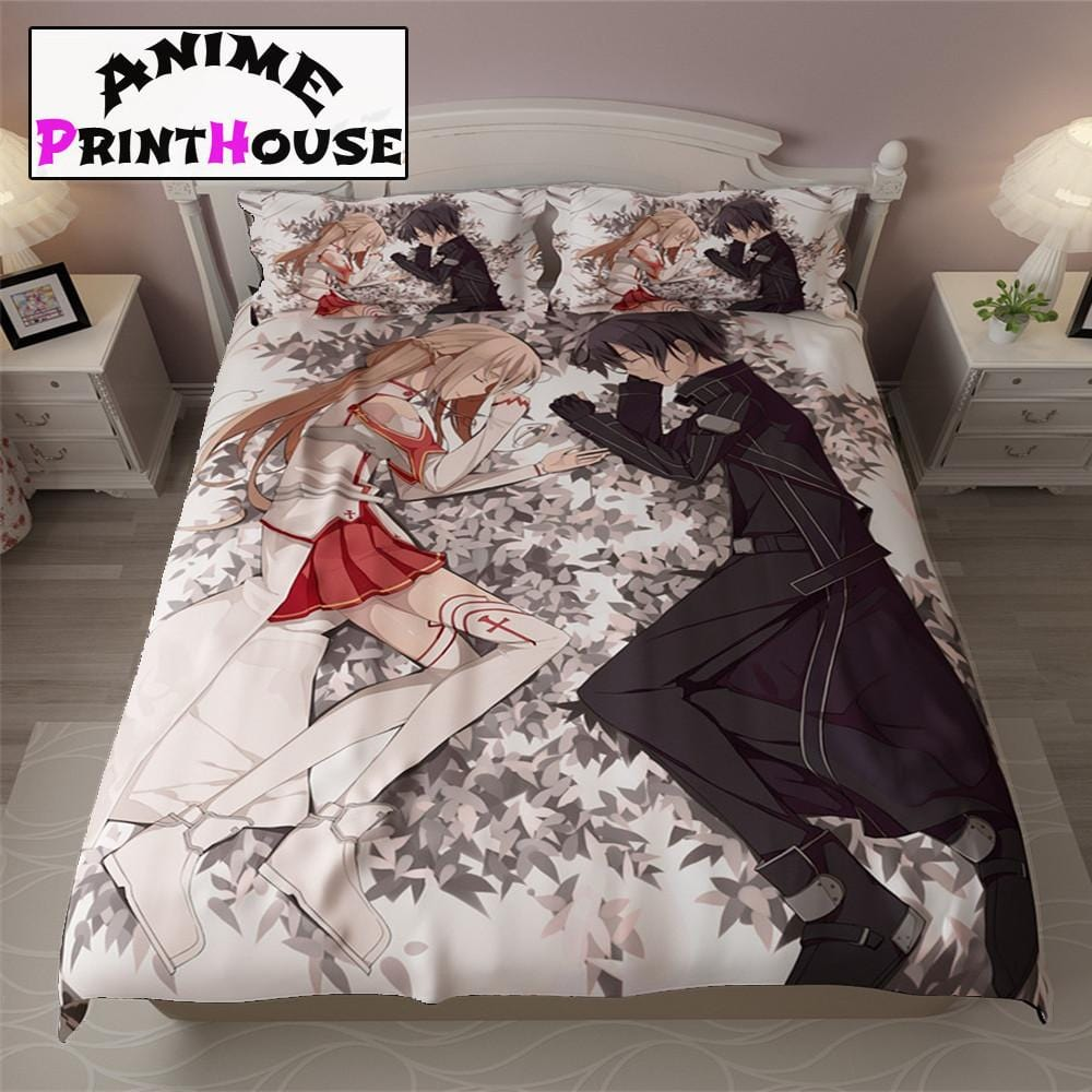 Sword Art Online Bedding Set Amp Blanket Free Shipping