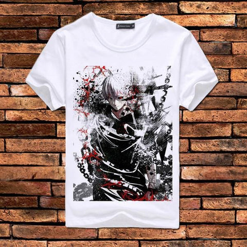 Anime T-Shirt - Tokyo Ghoul characters - 12 designs - C - Anime Print House