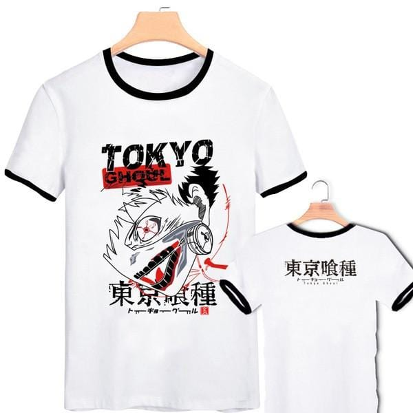 Tokyo Ghoul Anime T-Shirts in 4 Colors - Anime Print House