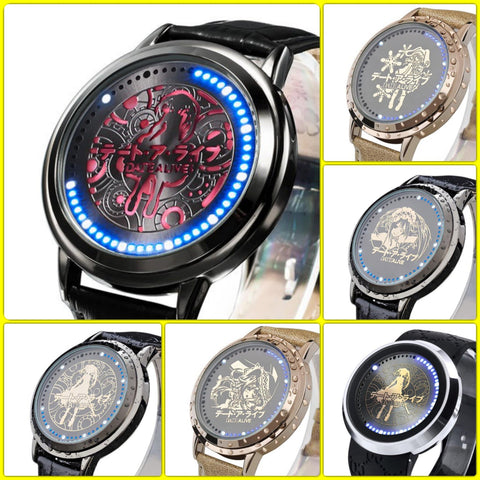Date A Live | Waterproof Touchscreen LED Watch - 12 Models - Anime Print House