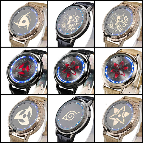 Naruto | Waterproof Touchscreen LED Watches - Anime Print House