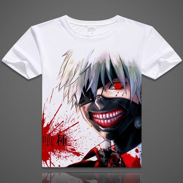 Tokyo Ghoul Anime T-Shirt - 12 designs - Anime Print House