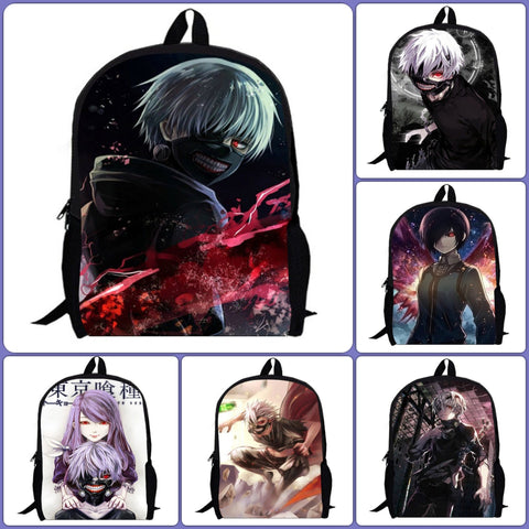 Tokyo Ghoul Anime Backpack | 9 designs - Anime Print House