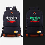 High quality Canvas Tokyo Ghoul Backpack with Glowing Feature