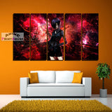 Tokyo Ghoul Canvas Print , 1 to 5 Pieces, Touka in Red