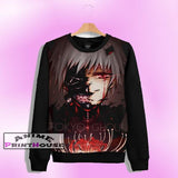 Tokyo Ghoul Ken Kaneki Sweater | Full Color One Side Print