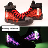 Tokyo Ghoul Glowing Shoes | Hand Painted Luminous
