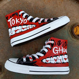 Tokyo Ghoul Shoes High Top Canvas Anime Shoes