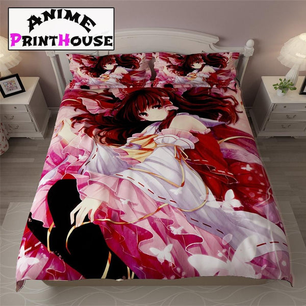 Touhou Project Bed Set, Blanket & Sheets | Over 70 Designs