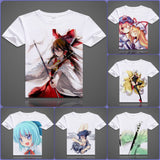 Touhou Project T-Shirt | Men & Women - 6 Designs|B - Anime Print House