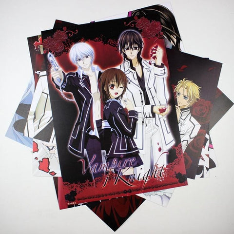 Free Vampire Knight Posters | 8 Pieces!