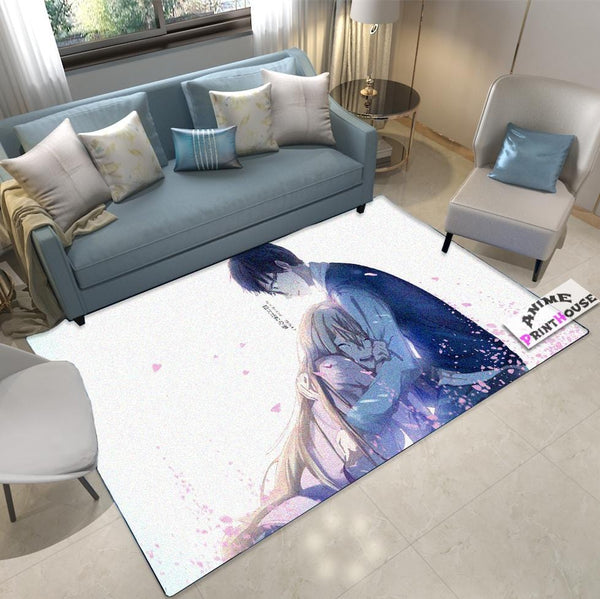 Your Lie In April Carpet, Kaori & Kousei , Anime Rug