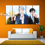 Yuri on Ice Canvas Painting Wall Decor | Yuri Victor Yurio