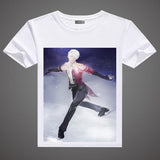 Yuri on Ice A3 Printed T-Shirts in 6 Designs