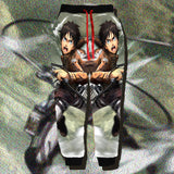 Attack on Titan Eren Yeager Printed Joggers - Anime Print House
