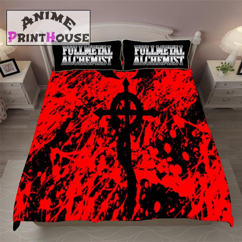 Fullmetal Alchemist Bedding set, Blanket, Sheets & pillow