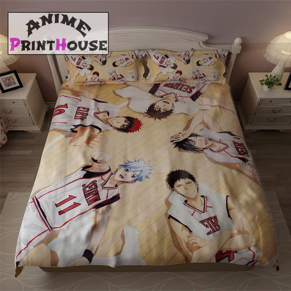 Kuroko No Basket Bedding Set, Sheets & Blanket
