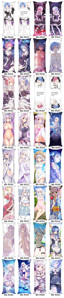 Re Zero Body Pillow with Emilia