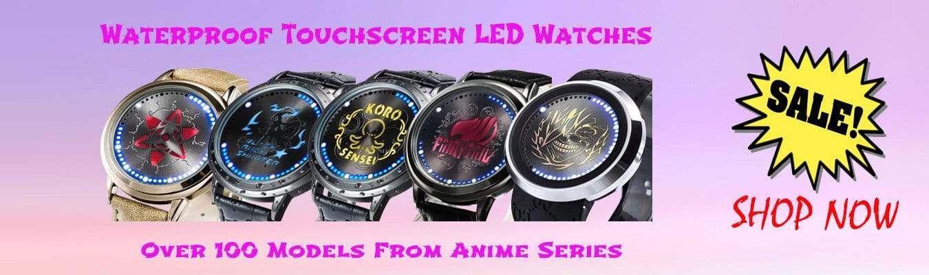 Anime LED Watch
