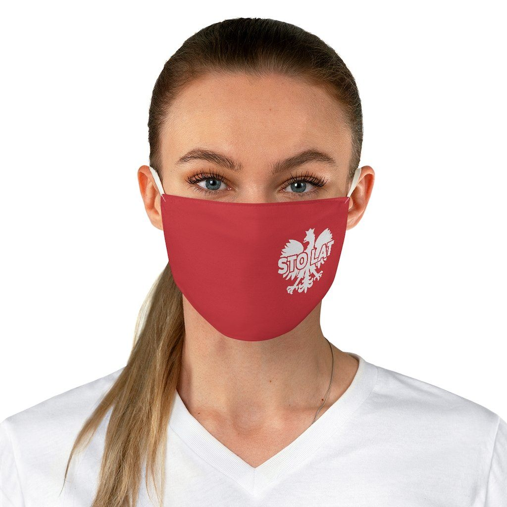 Sto Lat Fabric Face Mask - One size - Polish Shirt Store