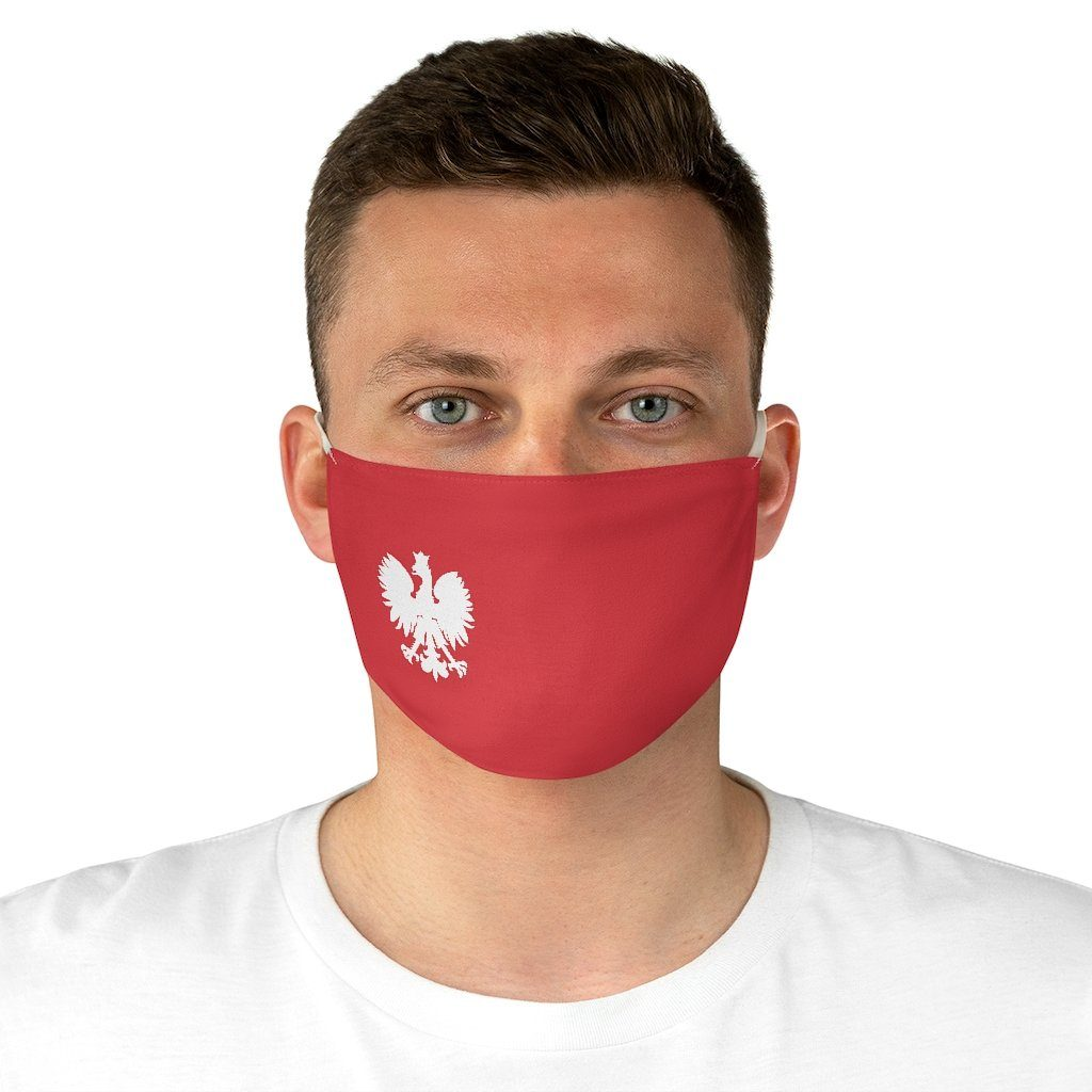Polish Pride Fabric Face Mask -  - Polish Shirt Store