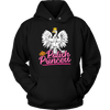 Polish Princess - Unisex Hoodie / Black / S - Polish Shirt Store