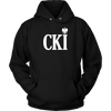 Polish Surname Ending With CKI - Unisex Hoodie / Black / S - Polish Shirt Store