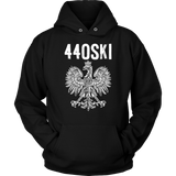 Parma Ohio - 440 Area Code - Polish Pride - Unisex Hoodie / Black / S - Polish Shirt Store