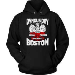 Dyngus Day Boston - Unisex Hoodie / Black / S - Polish Shirt Store
