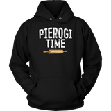 Pierogi Time T-Shirt - Unisex Hoodie / Black / S - Polish Shirt Store