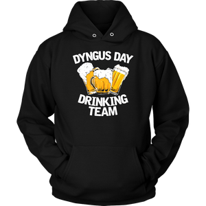Dyngus Day Drinking Team - Unisex Hoodie / Black / S - Polish Shirt Store