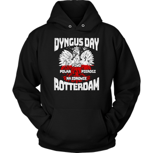 Dyngus Day Rotterdam New York - Unisex Hoodie / Black / S - Polish Shirt Store