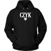 Polish Surnames ending in CZYK - Unisex Hoodie / Black / S - Polish Shirt Store