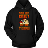 Skip The Candy Give Me Pierogi Pirate Adult Sizes - Unisex Hoodie / Black / S - Polish Shirt Store