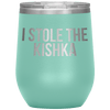 Who Stole The Kishka - I Stole The Kishka - Teal - Polish Shirt Store