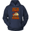 Skip The Candy Give Me Pierogi Pirate Adult Sizes - Unisex Hoodie / Navy / S - Polish Shirt Store