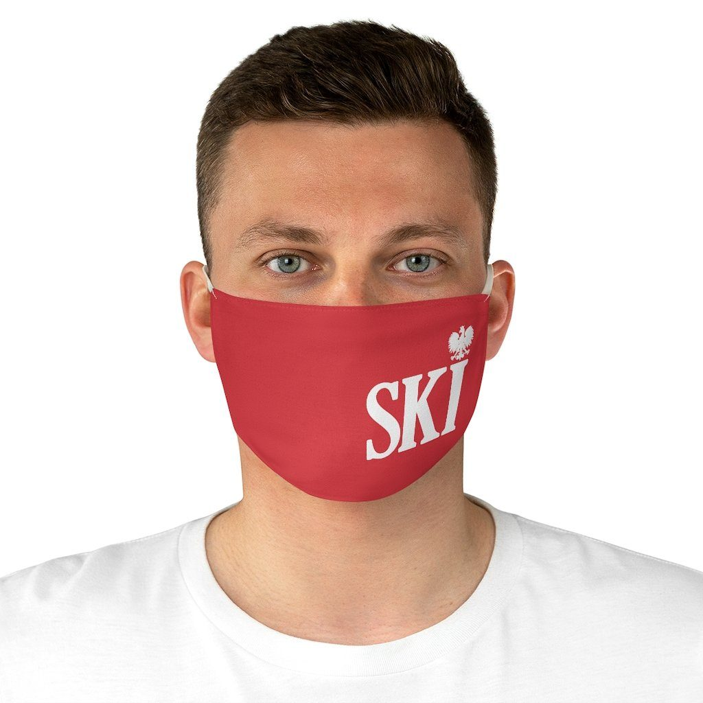 SKI Polish Surname Fabric Face Mask - One size - Polish Shirt Store