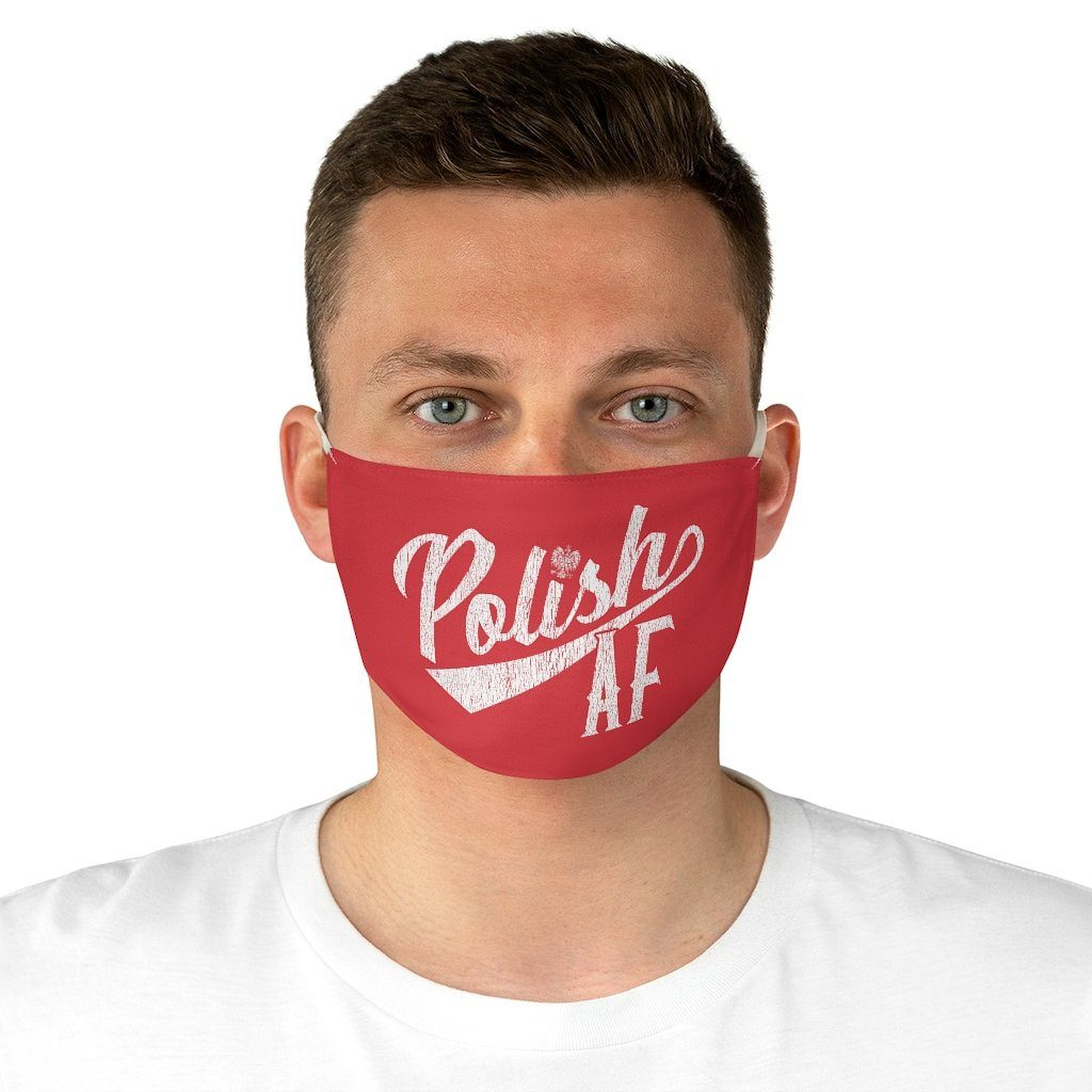 Polish As F*ck Fabric Face Mask - One size - Polish Shirt Store