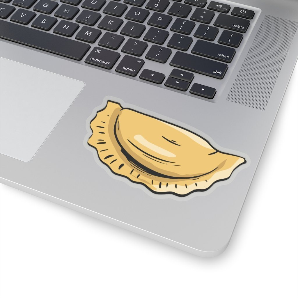 "Pierogi Sticker - 4x4"" / Transparent - Polish Shirt Store"