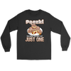 Pączki You Know Can't Eat Just One - Gildan Long Sleeve Tee / Black / S - Polish Shirt Store
