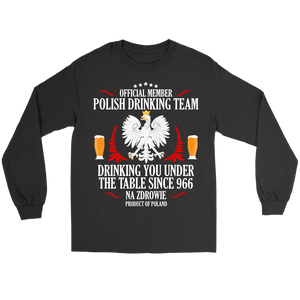 Official Member of the Polish Drinking Team -  - Polish Shirt Store
