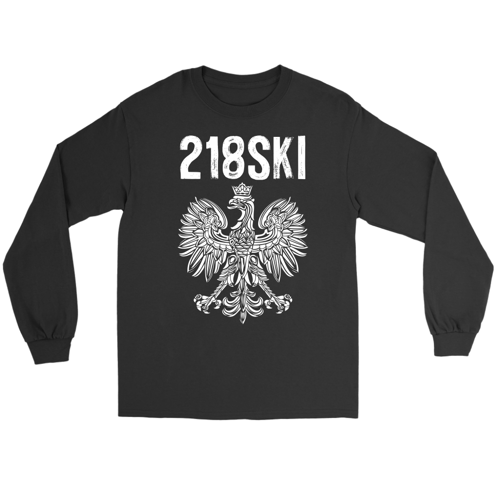 Minnesota - 218 Area Code - 218SKI - Polish Shirt Store