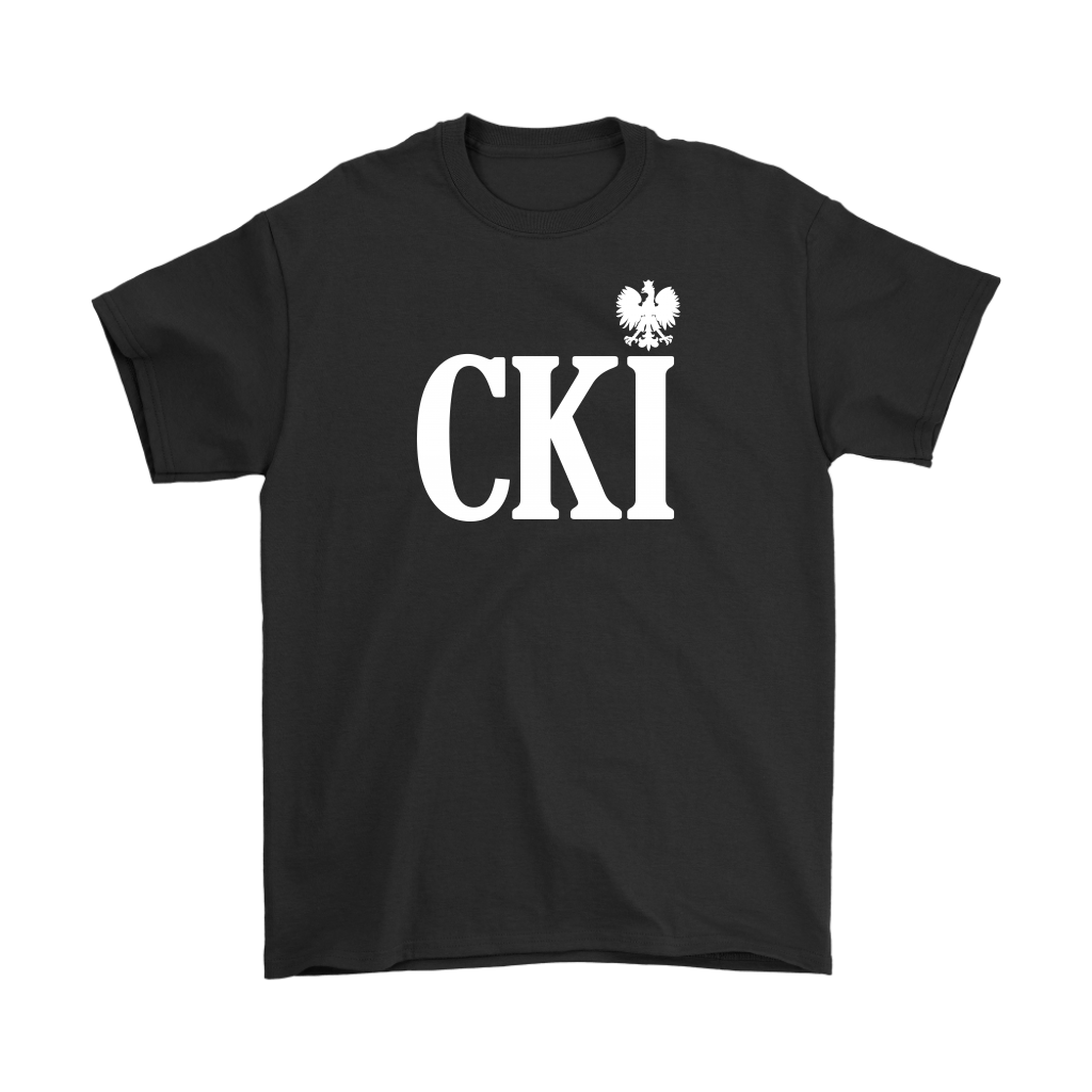 Polish Surname Ending With CKI - Gildan Mens T-Shirt / Black / S - Polish Shirt Store