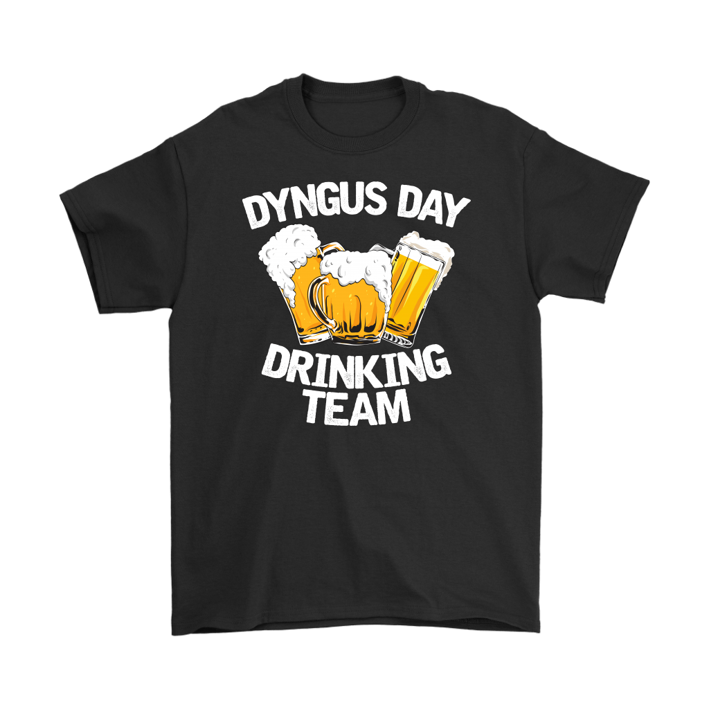 Dyngus Day Drinking Team - Gildan Mens T-Shirt / Black / S - Polish Shirt Store
