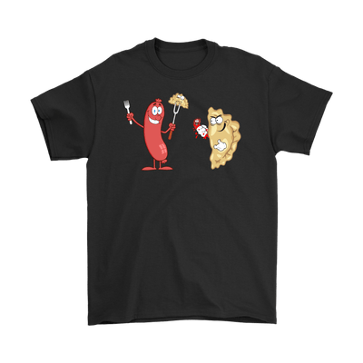 Kielbasa vs Pierogi Polish Food Fight Round 1 -  - Polish Shirt Store